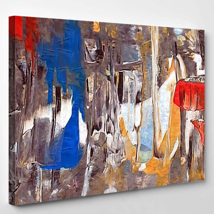 Abstract Painting 35 - Abstract Art Canvas Art Print
