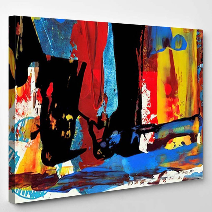 Abstract Painting 38 - Abstract Art Canvas Art Print