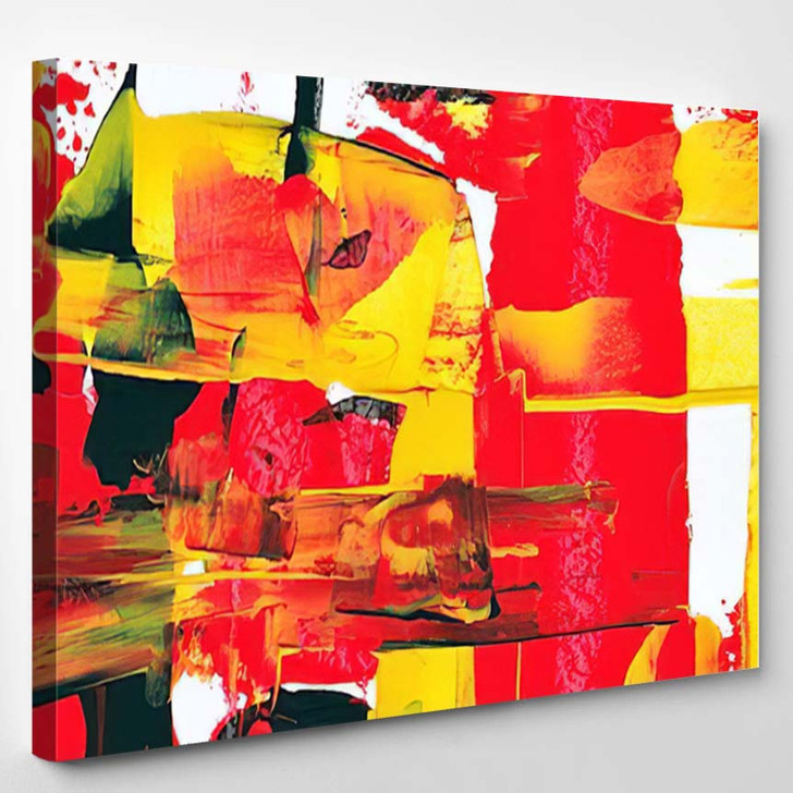 Abstract Painting 39 - Abstract Art Canvas Art Print