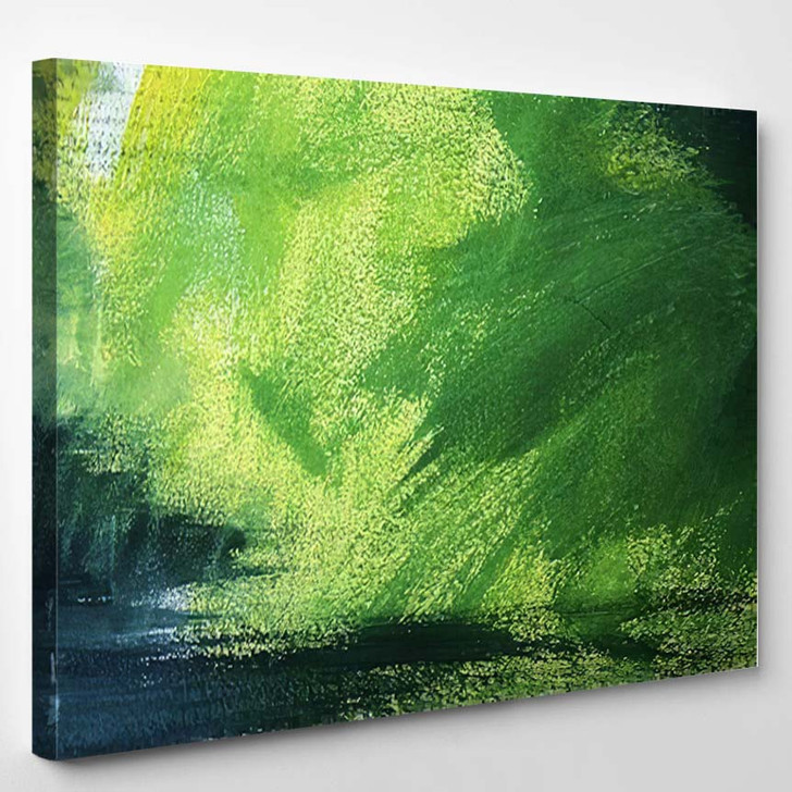 Abstract Painting On Canvas 3 - Abstract Art Canvas Art Print