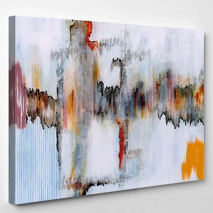 Abstract Painting 47 - Abstract Art Canvas Art Print