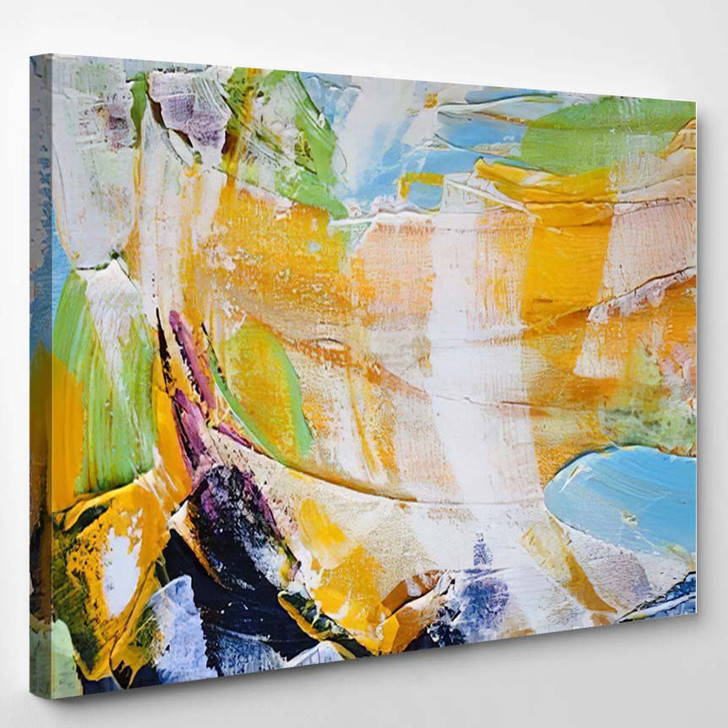 Abstract Painting 48 - Abstract Art Canvas Art Print