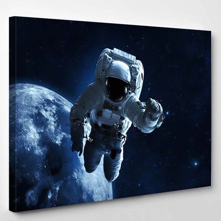 Astronaut Elements This Image Furnished By 3 - Astronaut Canvas Art Print