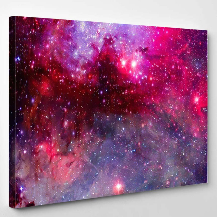 Space Art Elements This Image Furnished - Astronaut Canvas Art Print