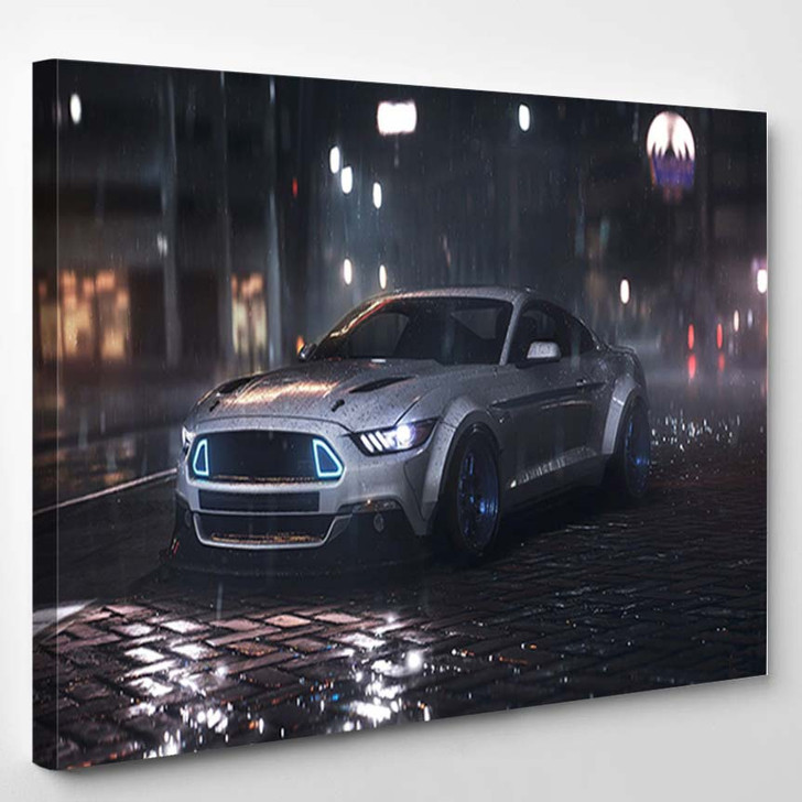 2015 Ford Mustang GT RTR - Canvas Art Print