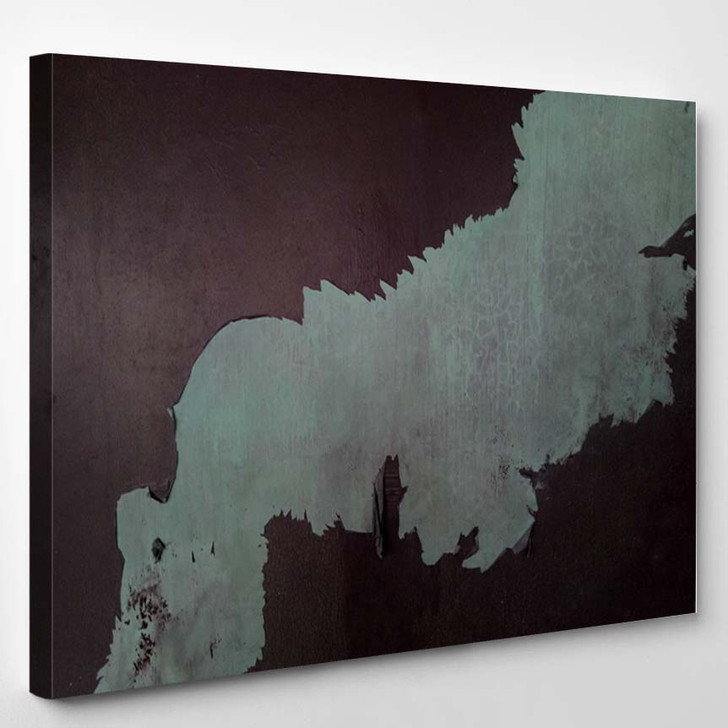 2D Illustration Artistic Background Image Abstract - Canvas Art Print
