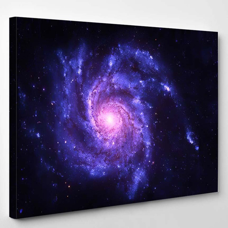 Spiral Galaxy Elements This Image Furnished 1 - Galaxy Sky and Space Canvas Art Print
