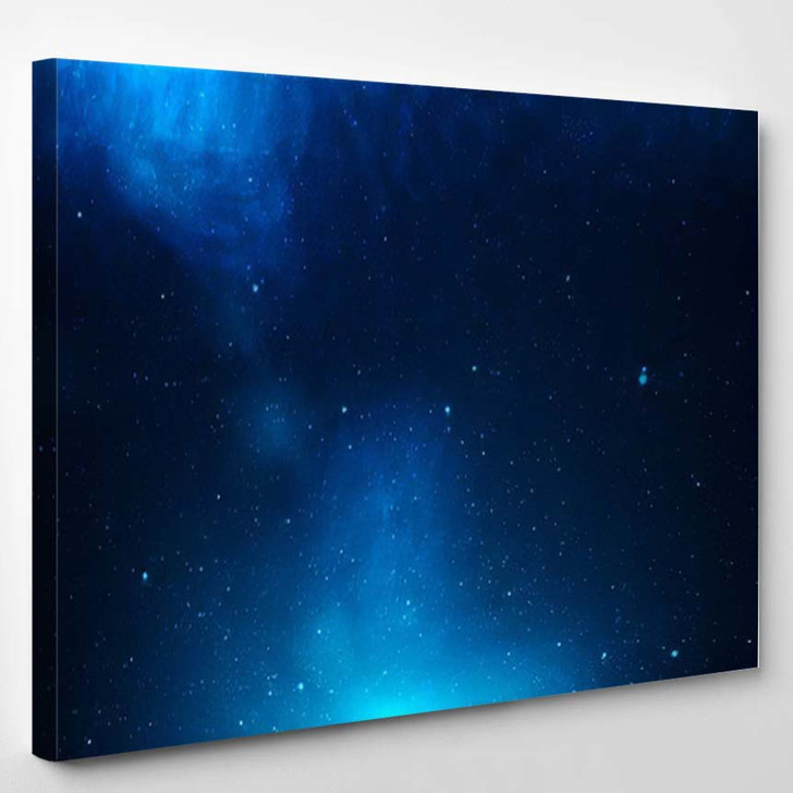 View Universe Stars Amazing Colorful Deep 1 - Galaxy Sky and Space Canvas Art Print