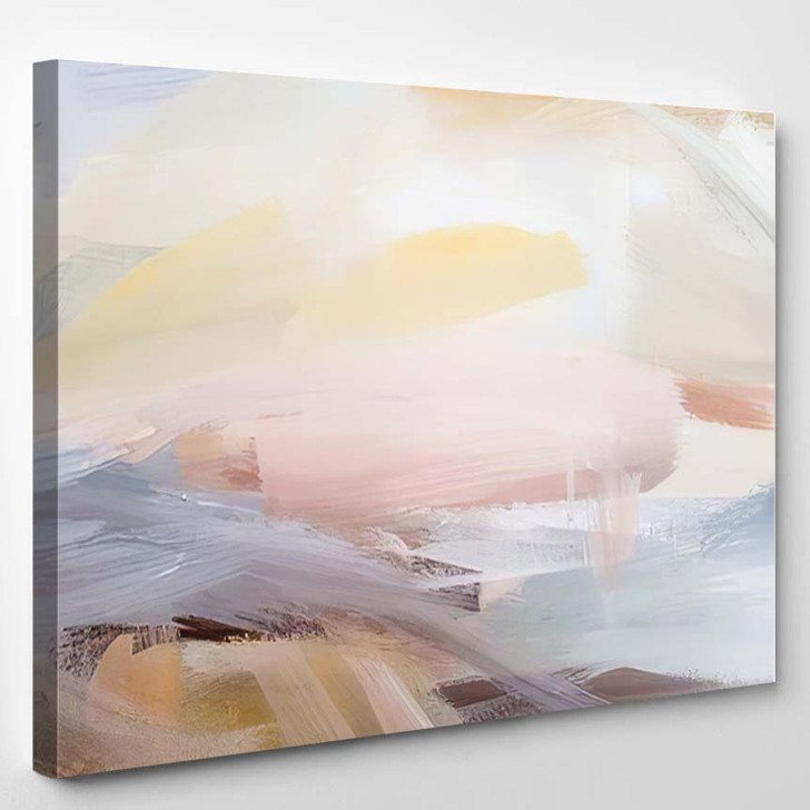 Abstract Art Painting Background Modern - Paintings Canvas Art Print