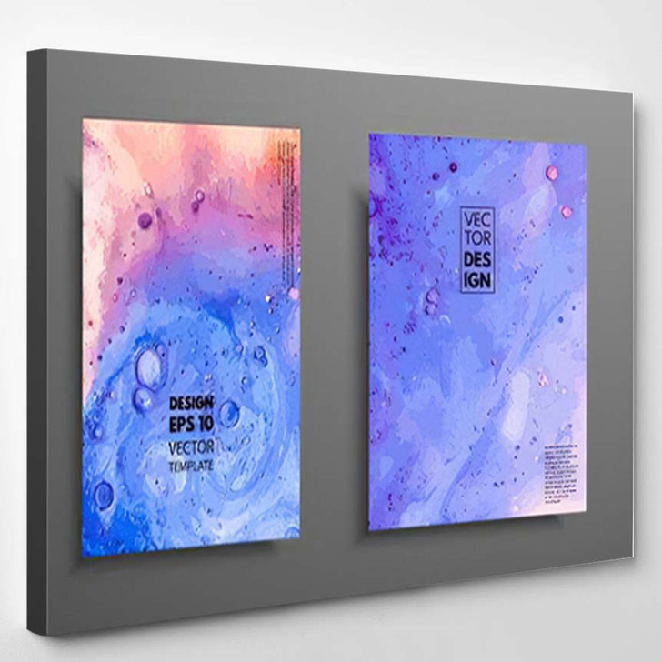 Abstract Painting Can Be Used Trendy - Paintings Canvas Art Print