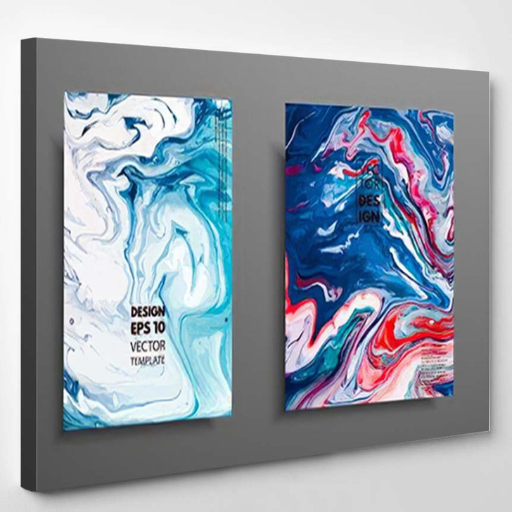 Abstract Painting Can Be Used Trendy 1 - Paintings Canvas Art Print
