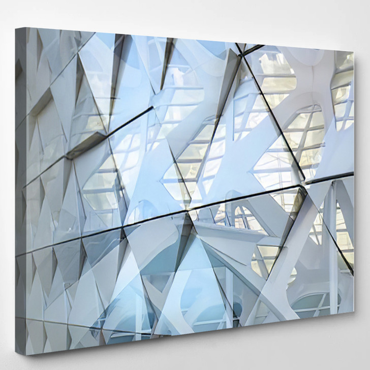 Abstract Architectural Detail - Abstrast Canvas Art Print