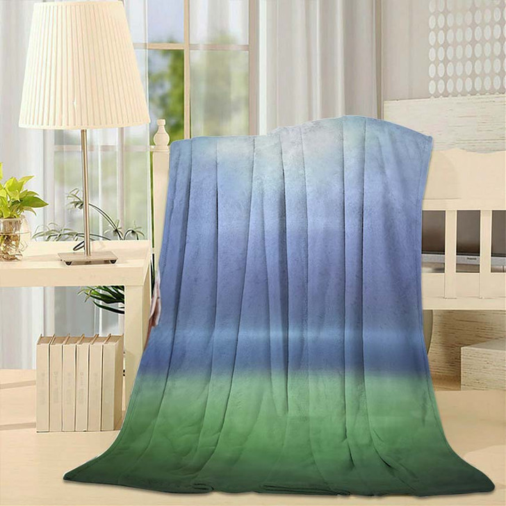 3D American Football Player Holding Against - Football Throw Blanket