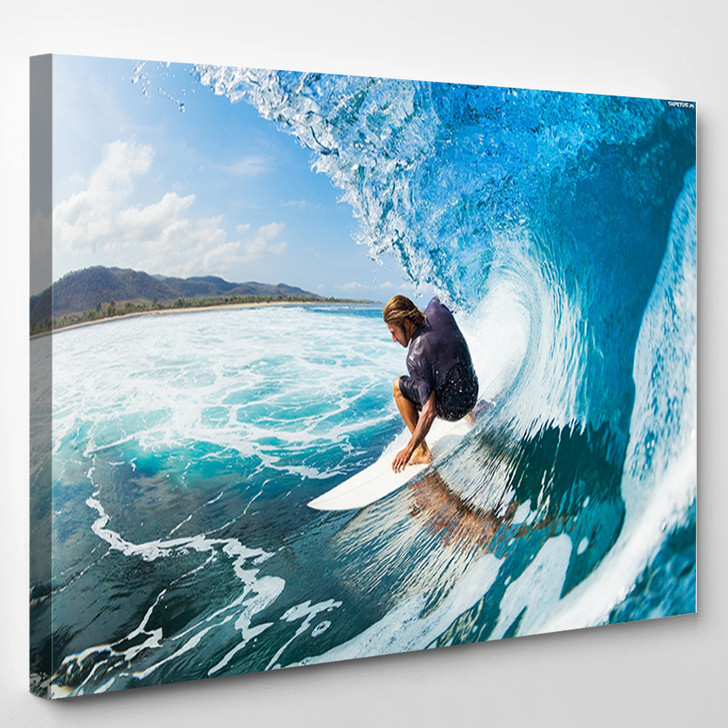 Surfing - Sports And Recreation Canvas Art Print