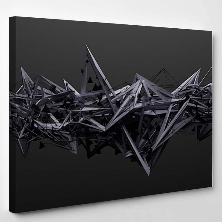 Abstract 3D - Abstract Canvas Art Print