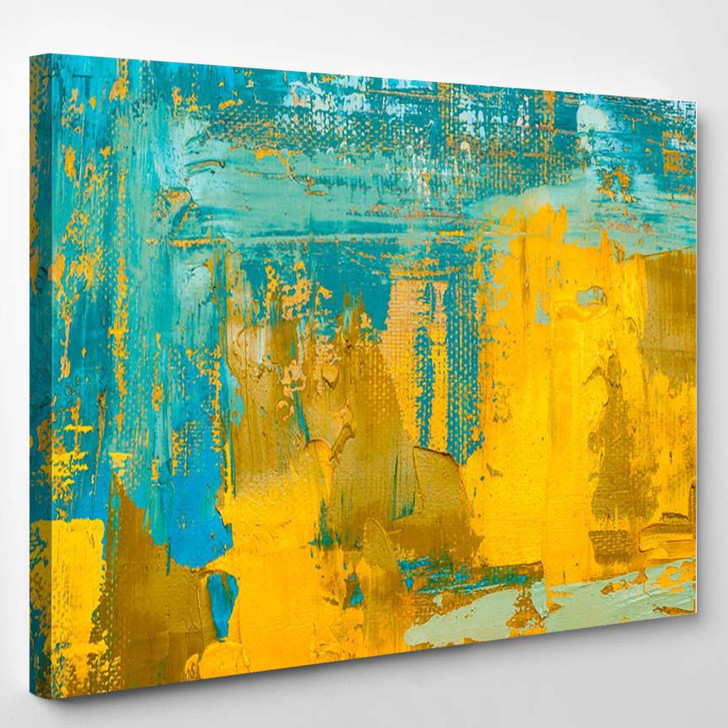 Abstract Art Background - Abstract Canvas Art Print