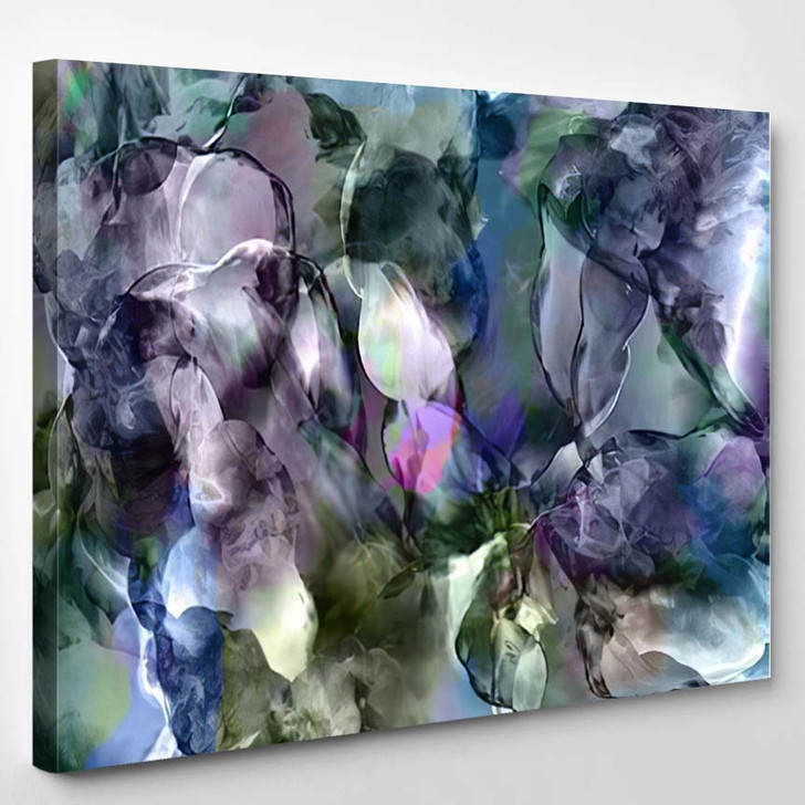 Marble Stone - Abstract Canvas Art Print