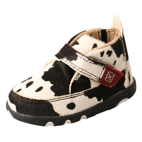 INFANT DRIVING MOCCASINS - HAIR ON HIDE ICA0013
