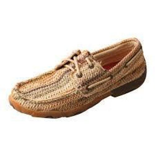 YOUTH DRIVING MOCCASINS - BOAT/MULTI PATTERN YDM0037