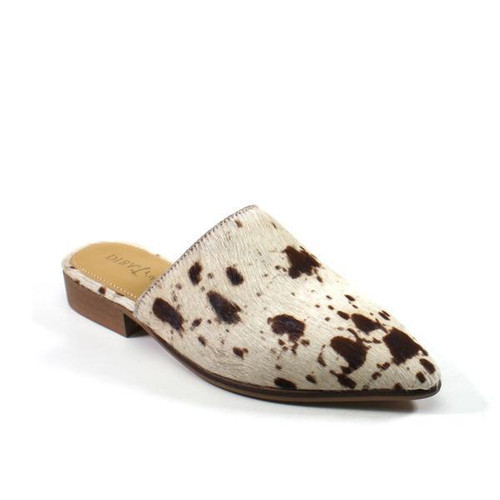 WOMENS DIBA TRUE - LOAFER/OFF WHITE+BROWN