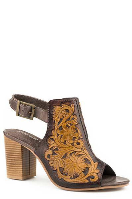 WOMENS ROPER SANDAL - MIKA/BROWN