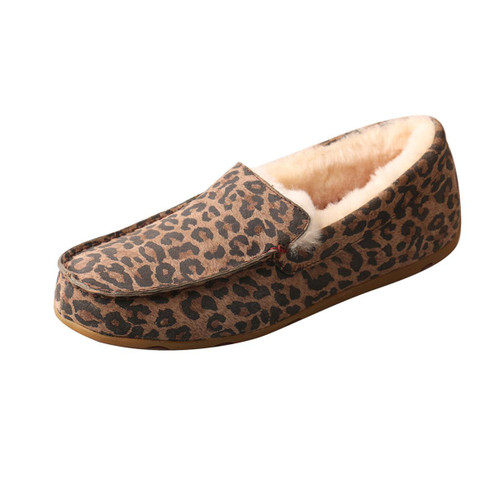 WOMENS SLIPPER - LEOPARD WSR0002