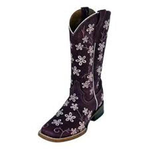 Ladies Bloom Purple S-Toe
