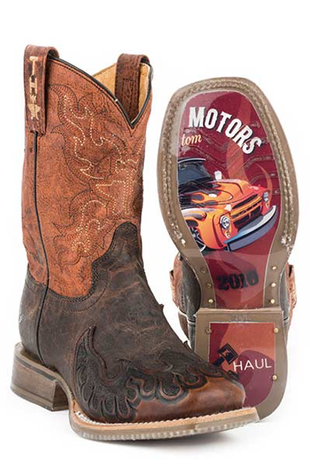 FLAMING HORSES / MUSCLE CAR SOLE