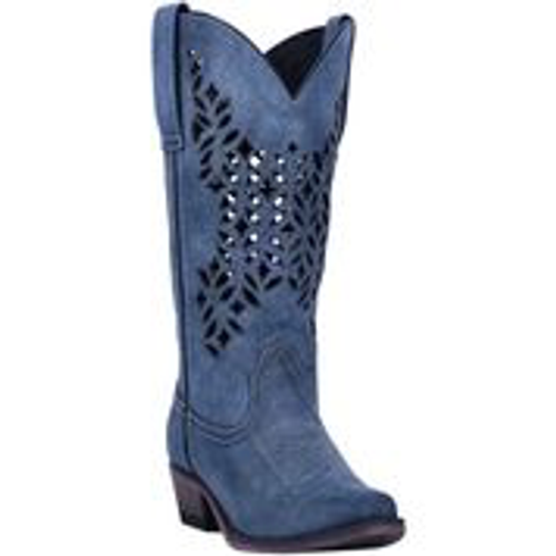 CHOPPED OUT LEATHER BOOT