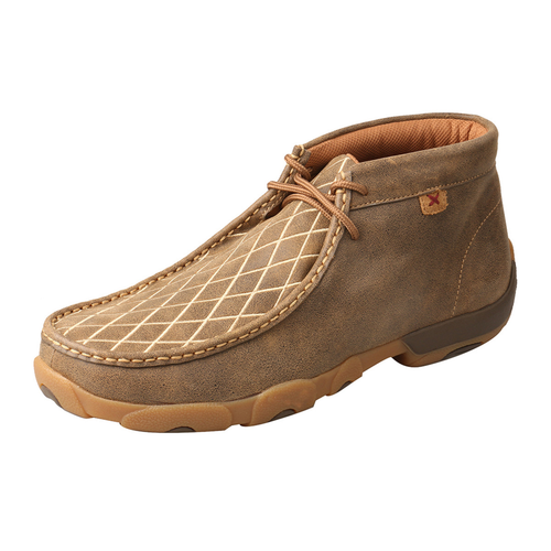 MEN'S CHUKKA DRIVING MOC - BOMBER DIAMOND MDM0076