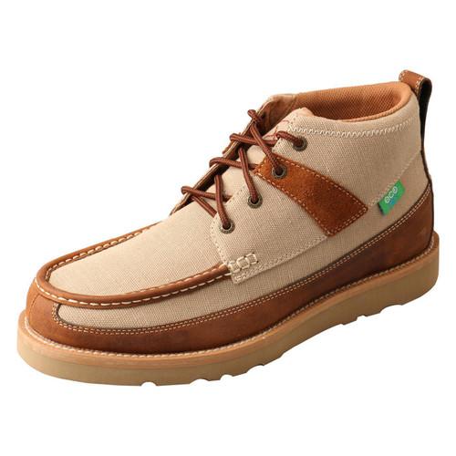 MENS WEDGE SOLE BOOT -KHAKI/OILED SADDLE MCA0031