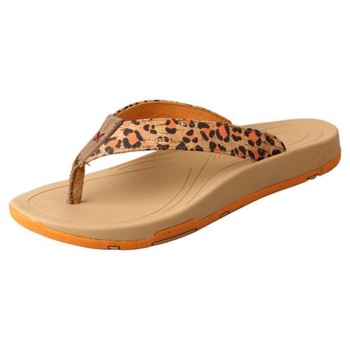 Sandal - Tan & Orange WSD0035