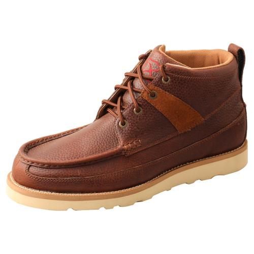 "4"" Wedge Sole Boot - Cinnamon & Cinnamon MCA0042"
