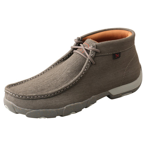 Chukka Driving Moc - Dark Grey & Grey MDM0086