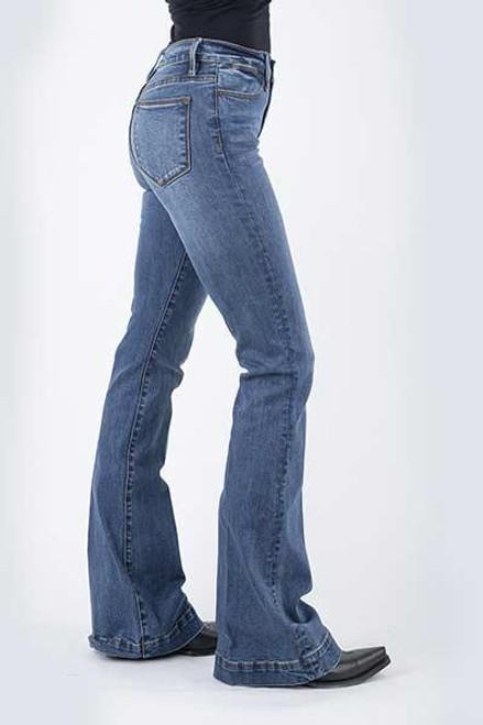 Stetson Women's Jean- 921 High Waist Flare