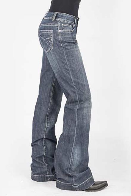 Stetson Ladies Jean- 214 Trouser Fit 11-054-0214-0804 BU