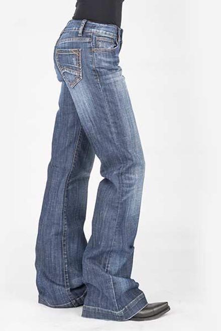 Stetson Ladies Jean- 214 Trouser Fit 11-054-0214-0803 BU