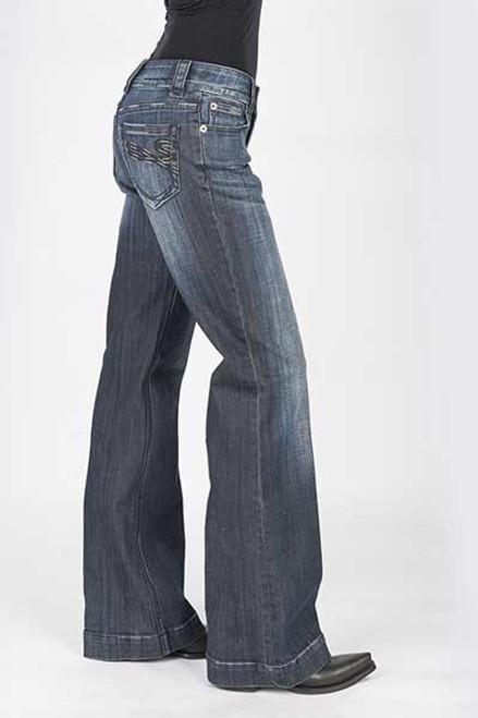 Stetson Ladies Jean- 214 Trouser Fit 11-054-0214-0204 BU