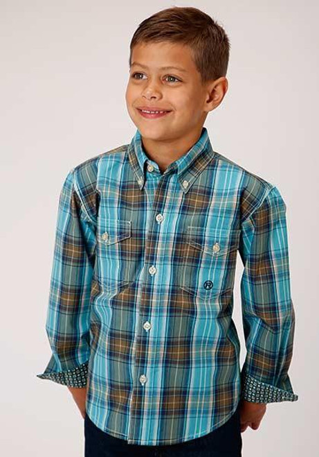 Boy's Amarillo Collection- Cool Pines 03-030-0378-7015 GR