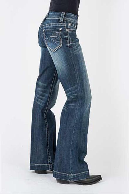 Stetson Ladies Jean- 214 Trouser Fit 11-054-0214-0320 BU