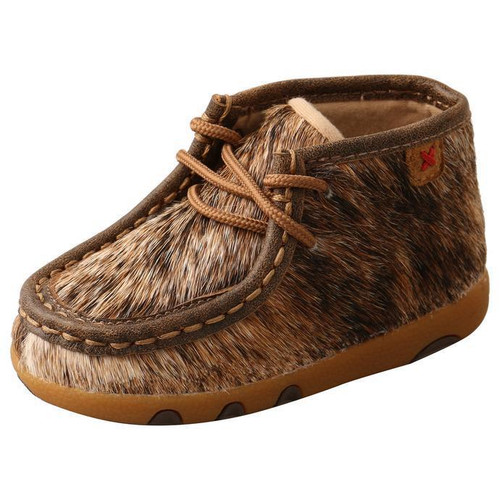 INFANT DRIVING MOCCASINS - BOMBER/LIGHT BRINDLE ICA0015