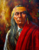 COCHISE WARRIOR NATIVE INDIAN  oil Painting