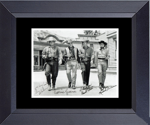 Cast Of Bonanza Black And White