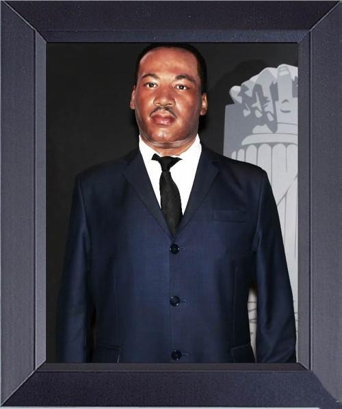 Martin Luther King Framed Art Photograph Print