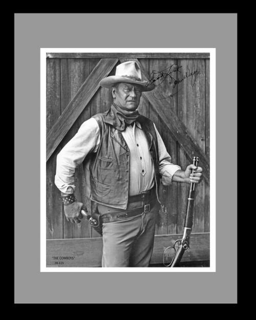 John Wayne Cowboys With Signature