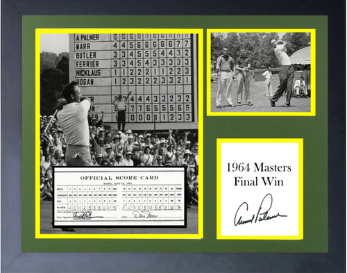 Arnold Palmer 1964 Final Master Win 9 Titles.