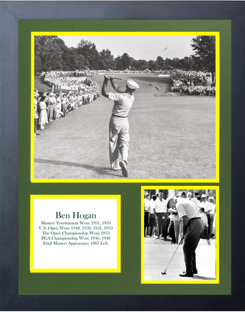 Ben Hogan 9 Time Major Winner Perfect Swing In Golf