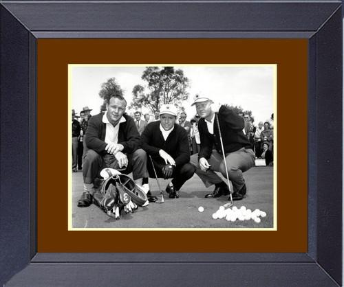 1960 Master Jack Nicklaus ARnold Palmer Gary Player Framed Print