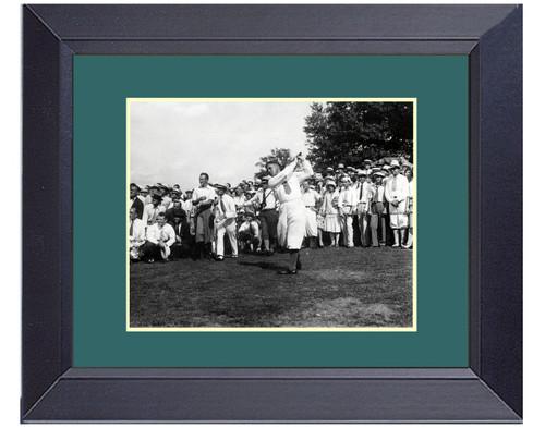Bobby Jones 1929 The Perfect Golf Swing Framed Print