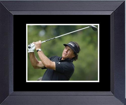 Golf  Phil Mickelson Master Winner Framed Art Photograph Print